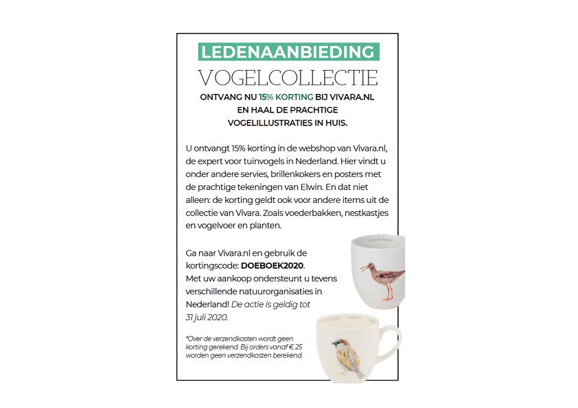 Ga naar www.vivara.nl en claim je korting!